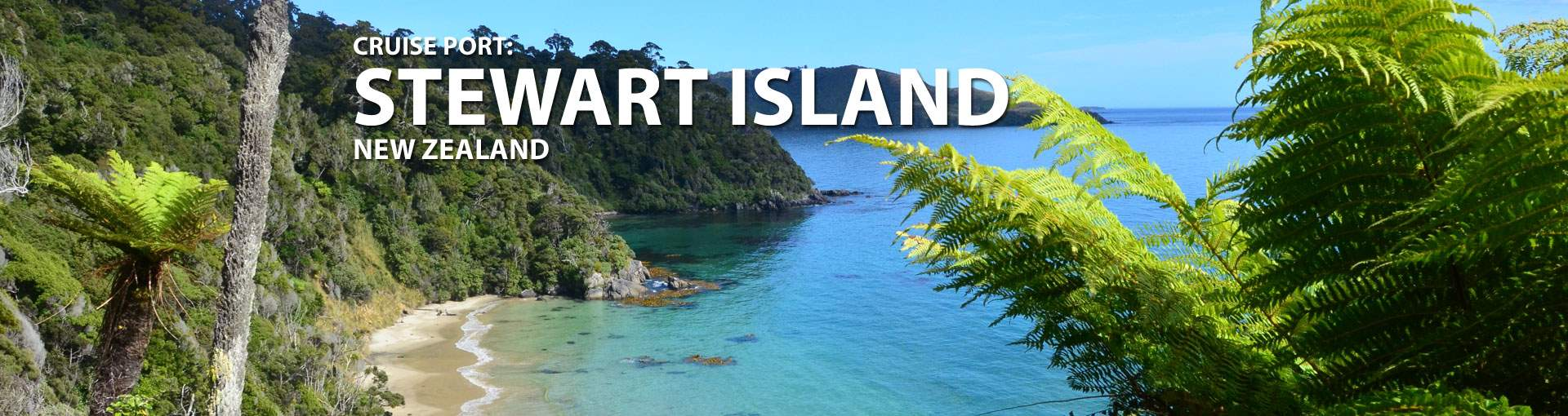 Cruises to Stewart Island, New Zealand