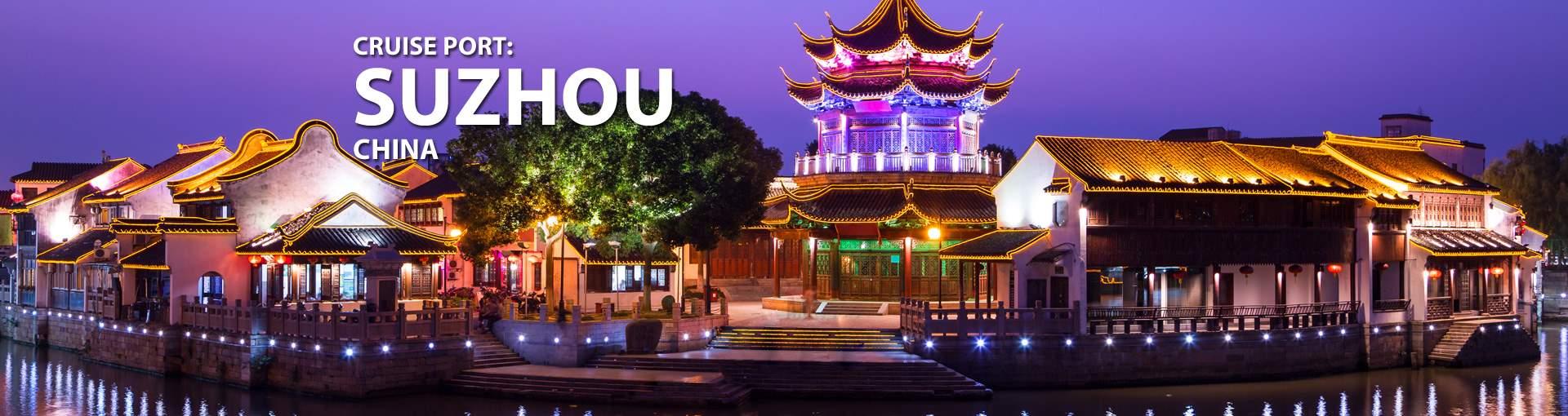 Cruises to Suzhou, China