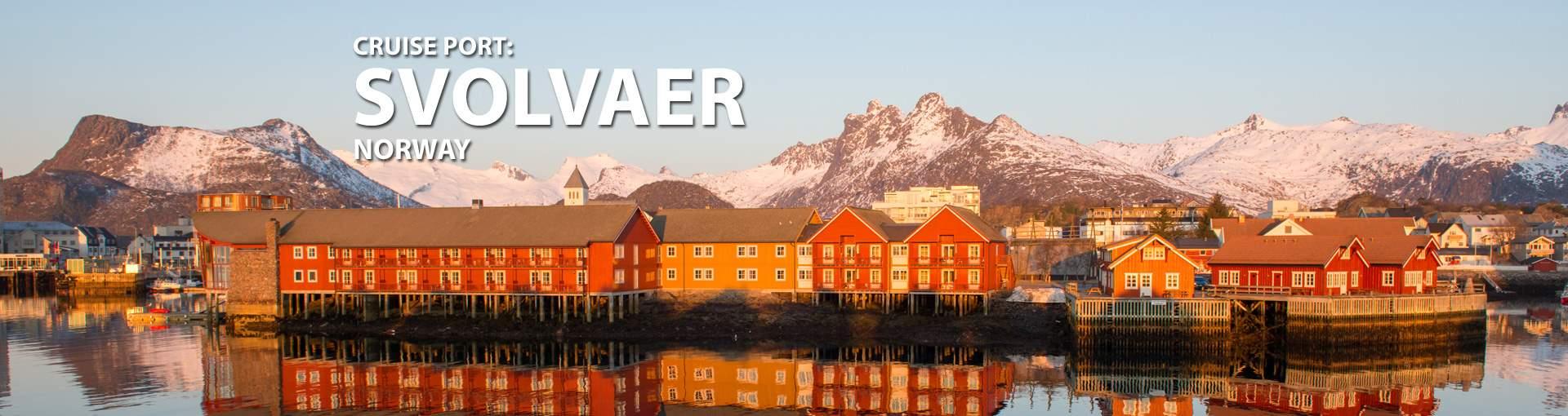 Cruises to Svolvaer, Norway
