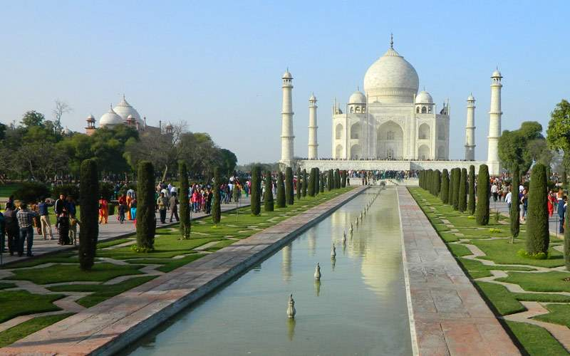 Taj Mahal of Agra, India