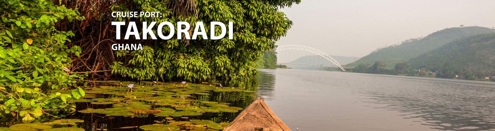 Cruises to Takoradi, Ghana