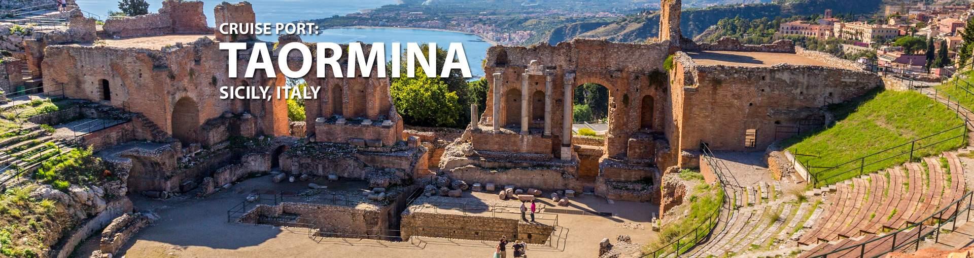 Cruises to Taormina, Sicily, Italy