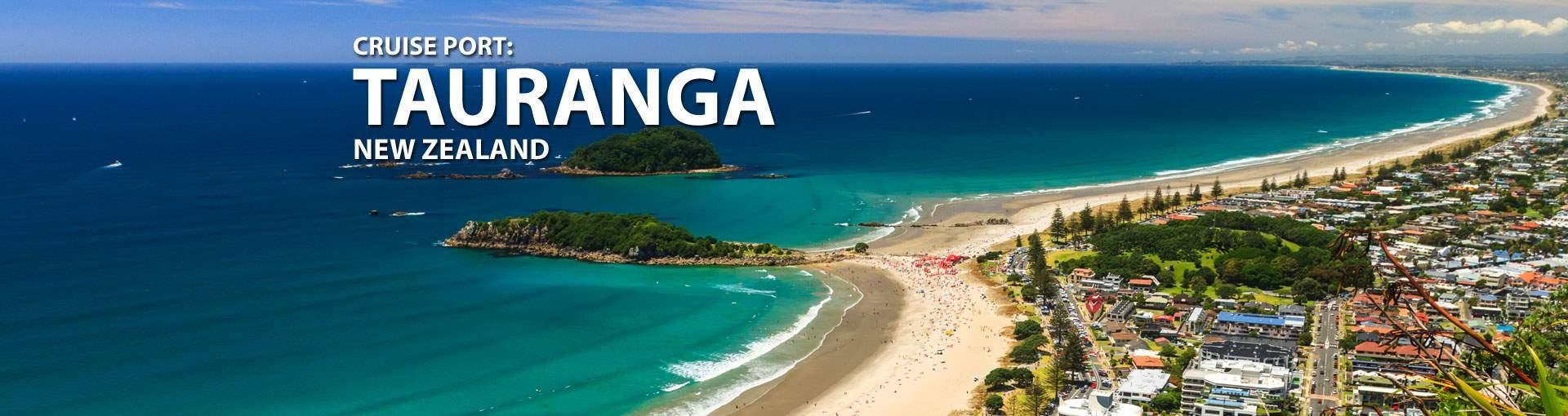 Cruises to Tauranga, New Zealand
