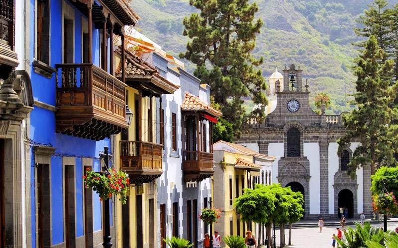 Teror Gran Canaria Canary Islands Spain