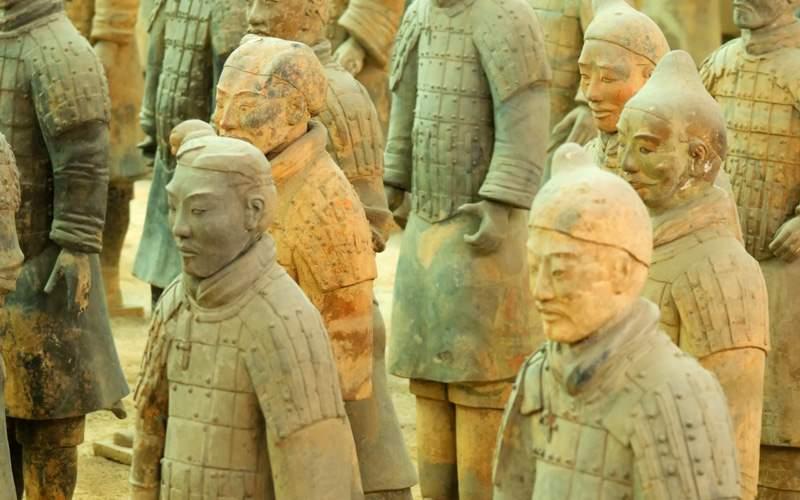 Terracotta Army near Xian, China