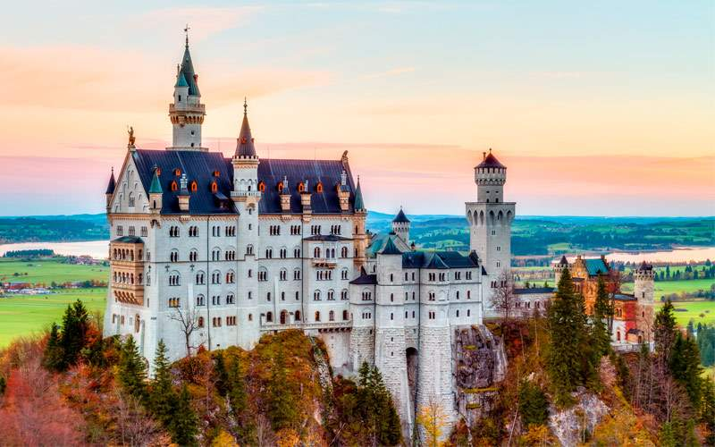 """The Fairy Tale Castle"" in Neuschwanstein, Germany"