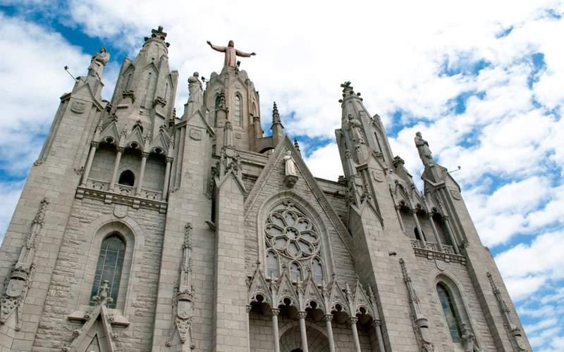 Tibidabo Church Barcelona Spain