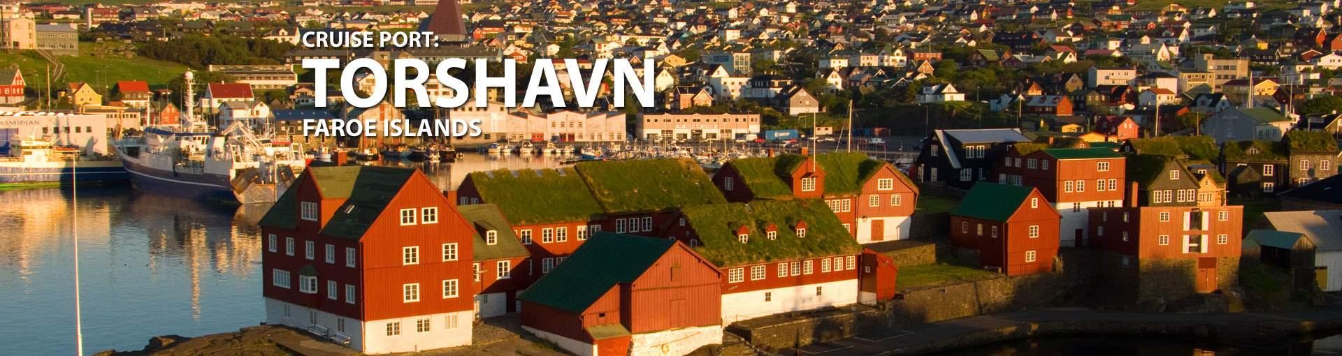 Cruises to Torshavn, Faroe Islands