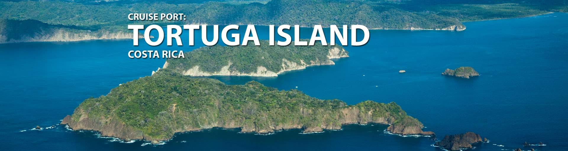 Cruises to Tortuga Island, Costa Rica