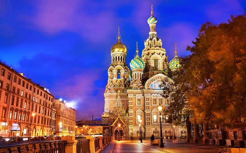 Famous Church in St Petersburg Russia Uniworld