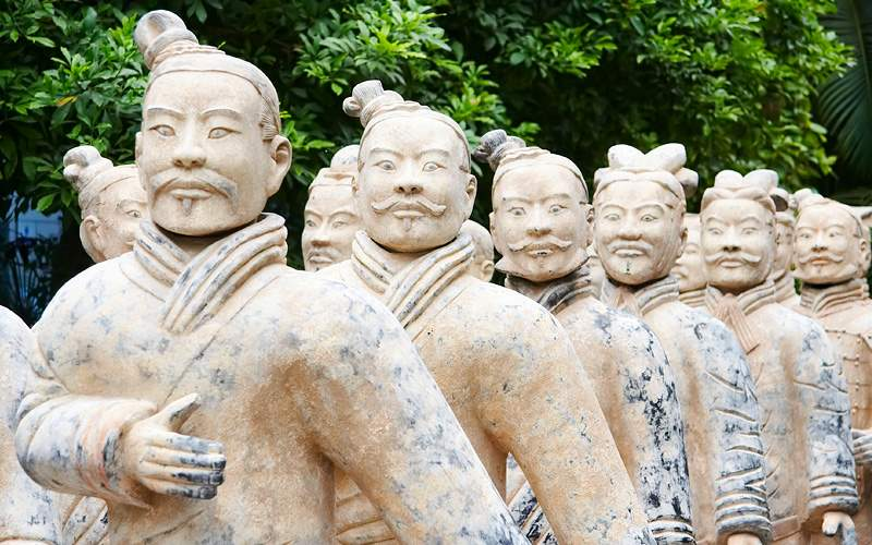 Army of terracotta warriors China Uniworld Rivers