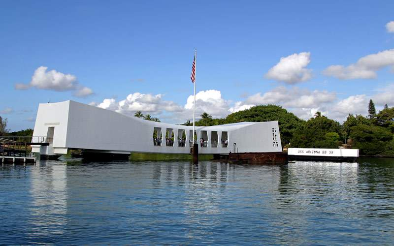 USS Arizona Memorial Pearl Harbor Honolulu Hawaii