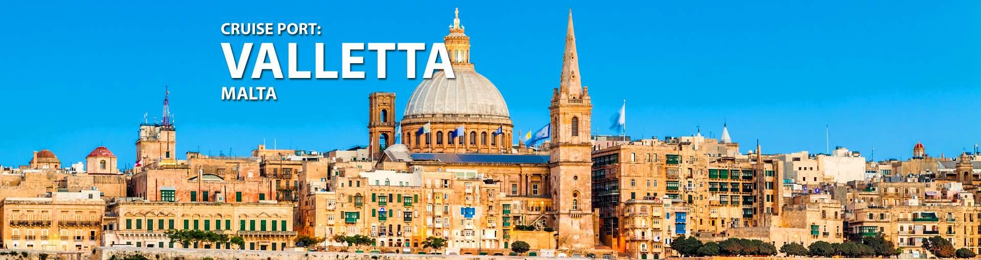 Cruises to Valletta, Malta