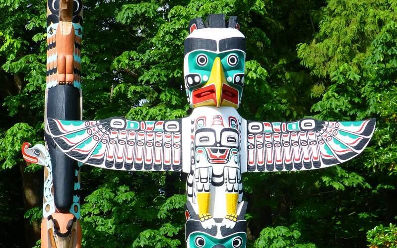Totem Pole in Alaska