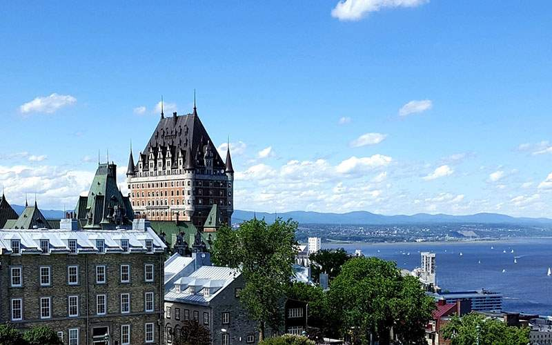 Quebec and St. Lawrence River