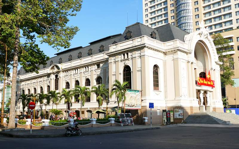 Opera House in Ho Chi Minh City, Vietnam
