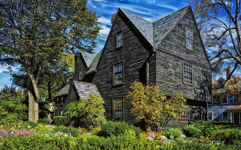 House of Seven Gables for Salem, MA