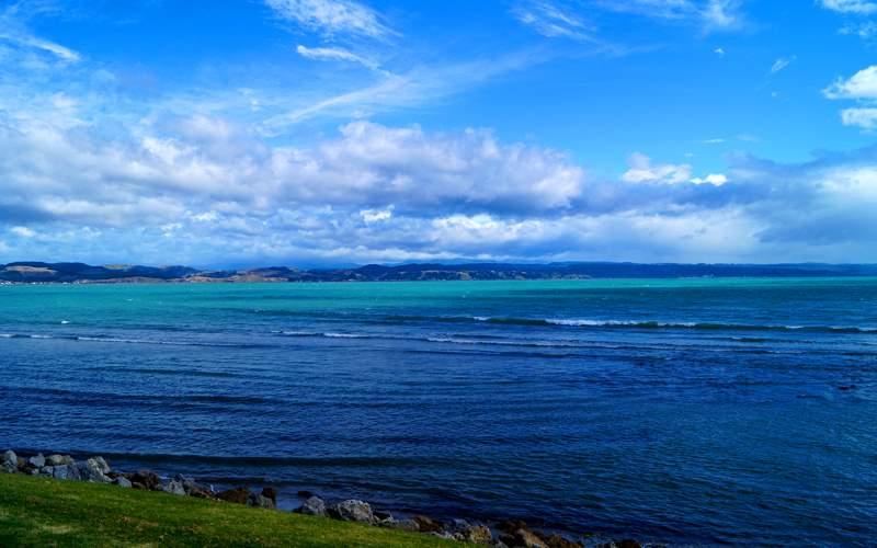 Napier Coastline of New Zealand