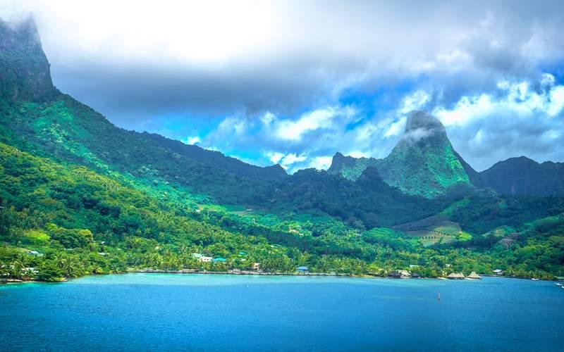 Papeete, Tahiti Landscape
