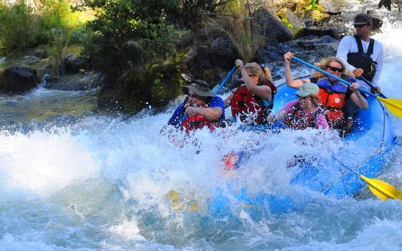 River Rafting in Puerto Montt, Chile
