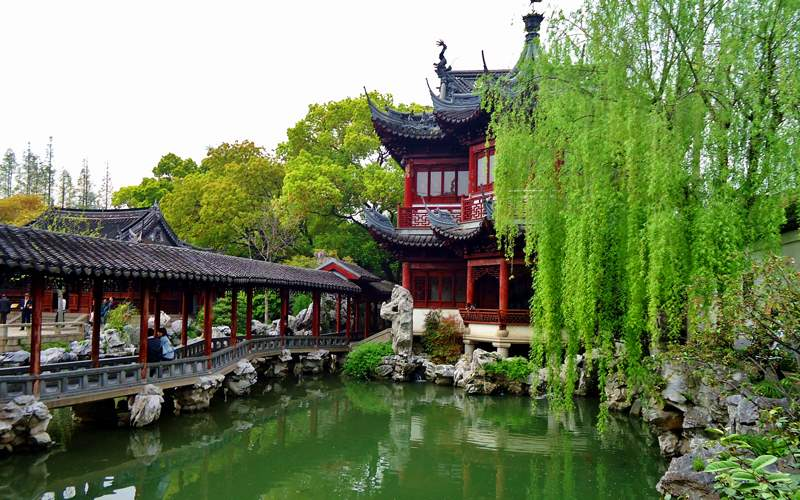 Gardens in Shanghai, China