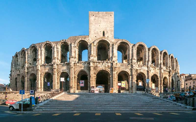 Arles Amphitheatre in France Viking River Europe