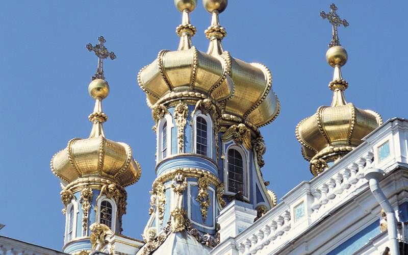 Catherine Palace St Petersburg Viking River Europe