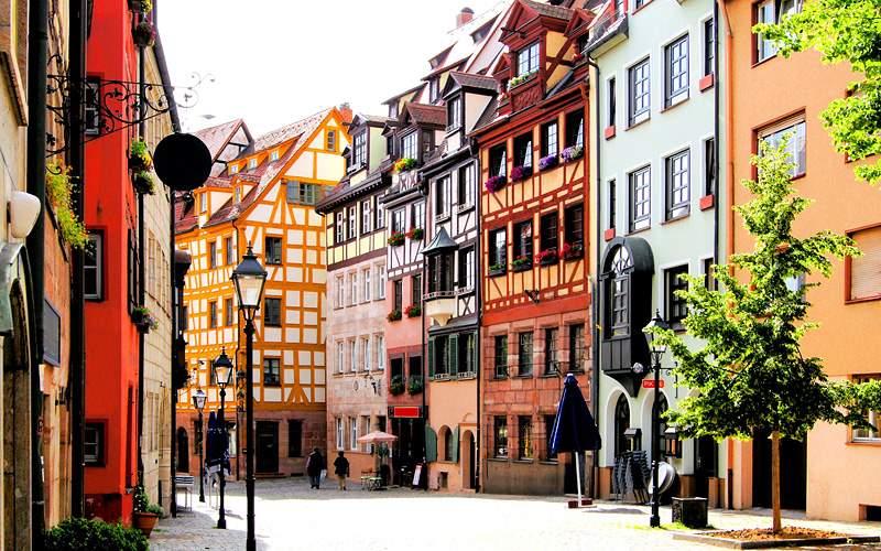 Old Town in Nuremberg, Germany Viking River Europe