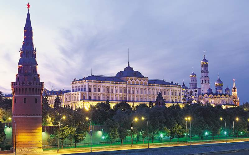 Kremlin in Moscow, Russia Viking River Europe