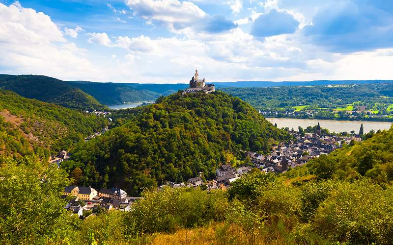 Marksburg Castle, Germany Viking River Europe