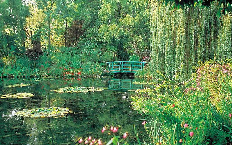 Monets garden Giverny France Viking River Europe