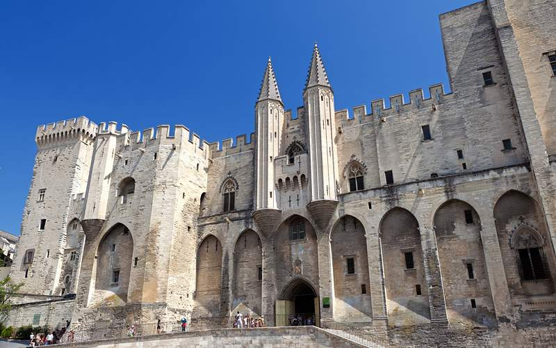Palace of the Popes in Avignon Viking River Europe