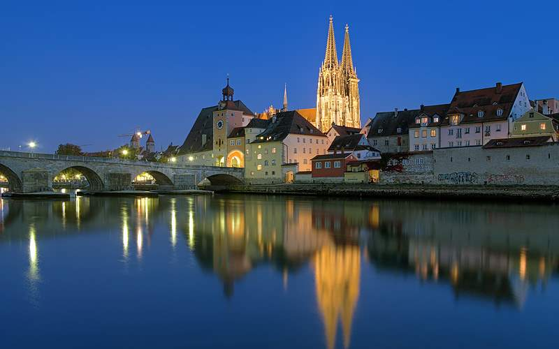 Regensburg Cathedral Germany Viking River Europe