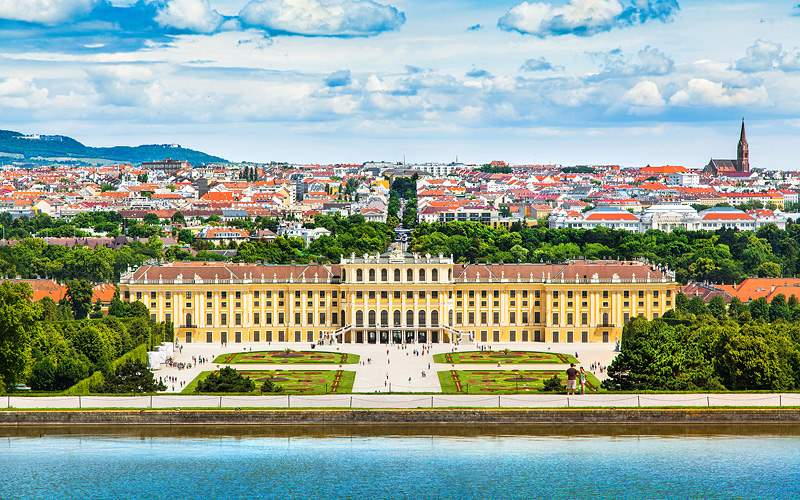 Schonbrunn Palace in Vienna Viking River Europe