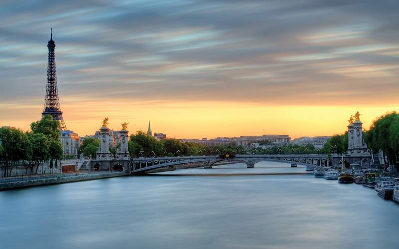 Eiffel Tower in Paris, France Viking River Europe