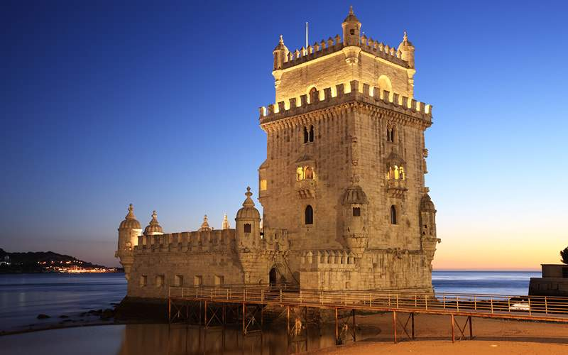 Tower of Belem Lisbon Portugal Viking River Europe