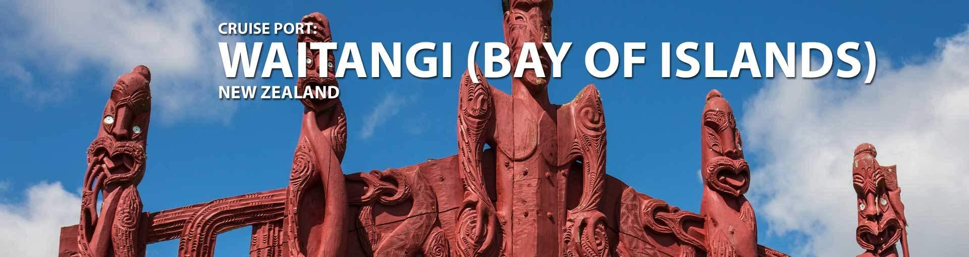 Cruises to Waitangi (Bay Of Islands), Nz