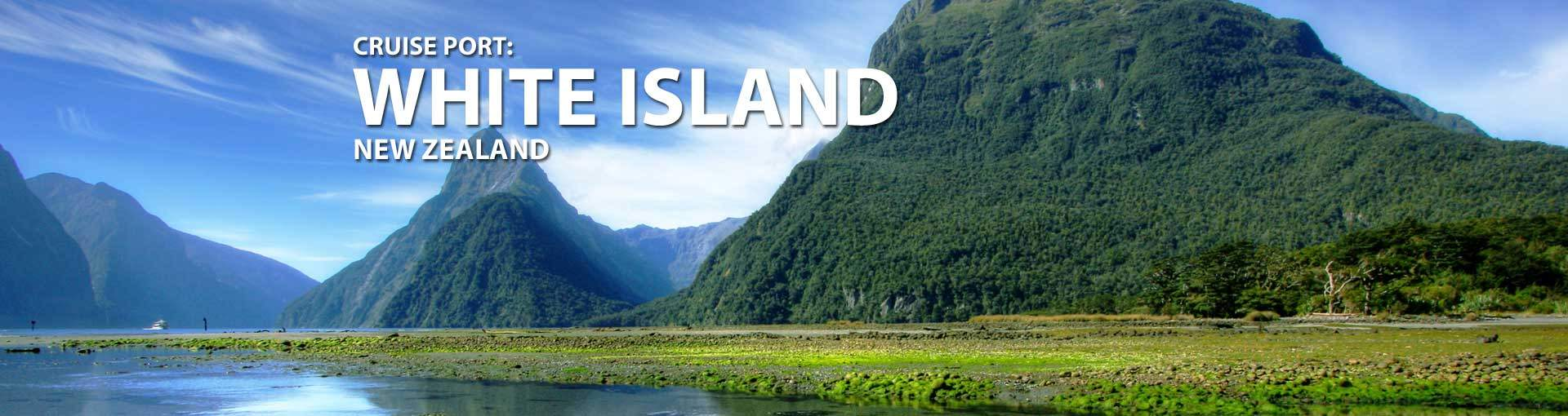Cruises to White Island, New Zealand