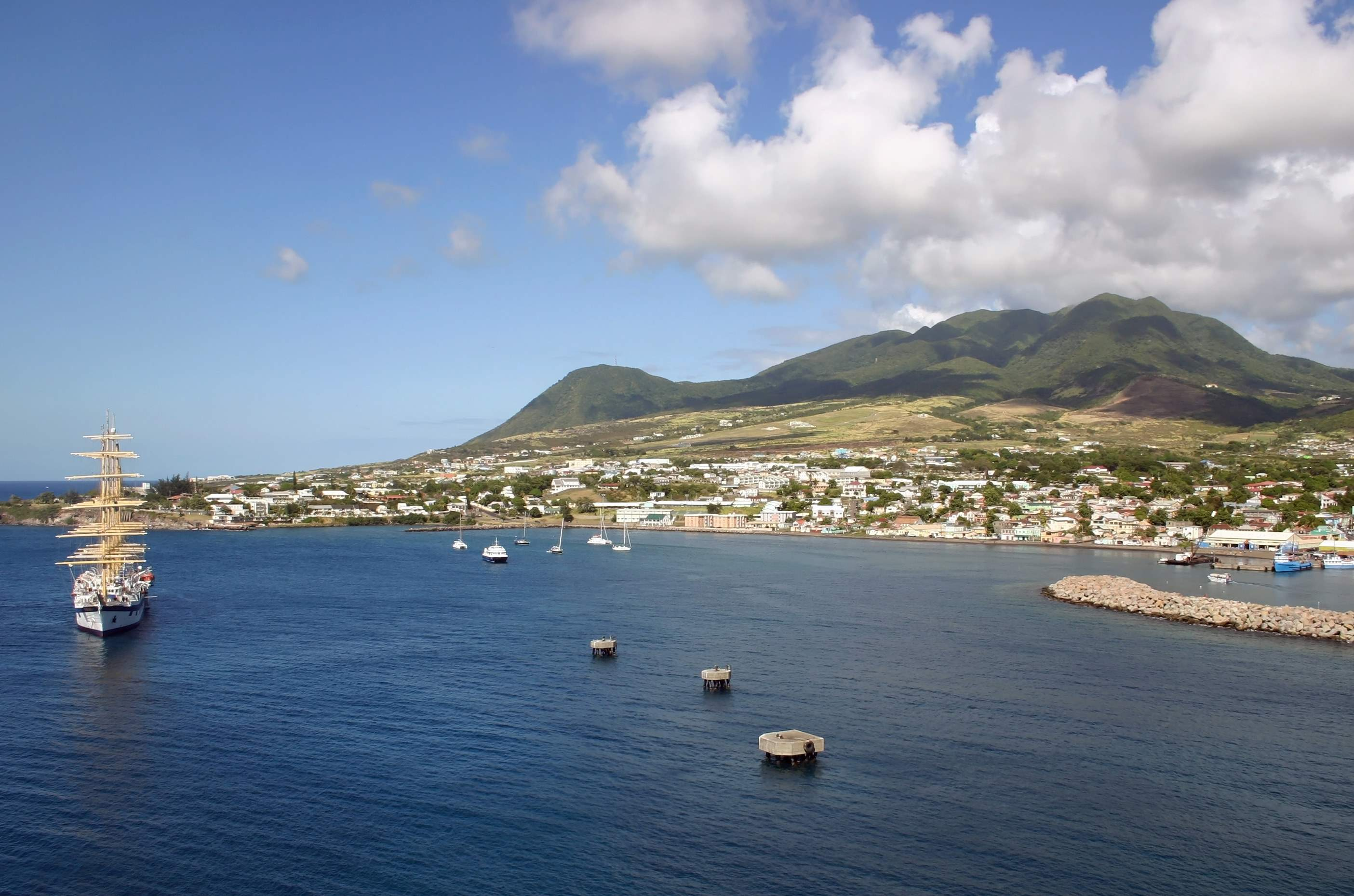 Windstar Cruises, Basseterre St. Kitts West Indies
