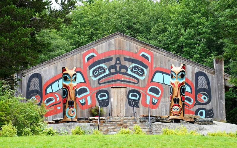 Totems in Ketchikan, Alaska