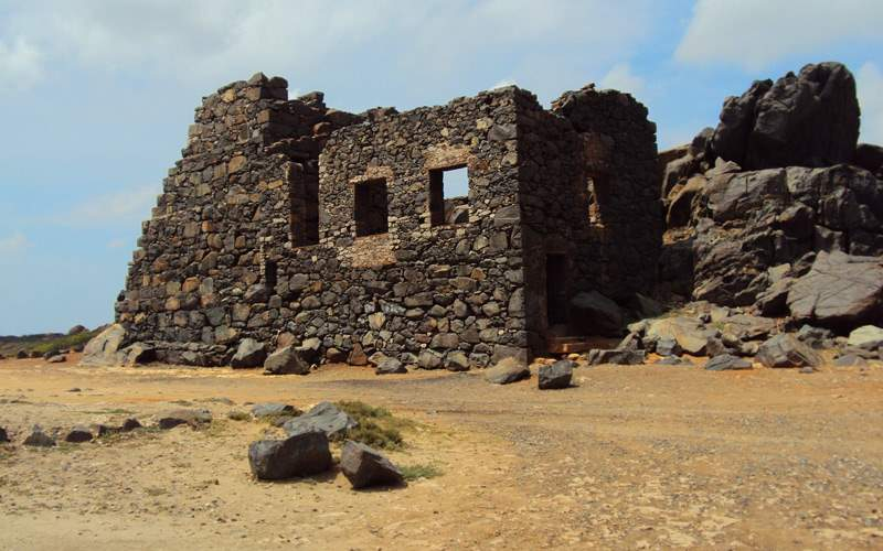 Gold Mine Ruins in Aruba - Windstar Cruises