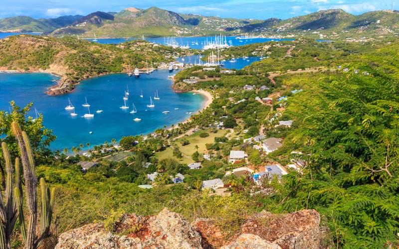 Falmouth Harbour, Antigua - Windstar Cruises