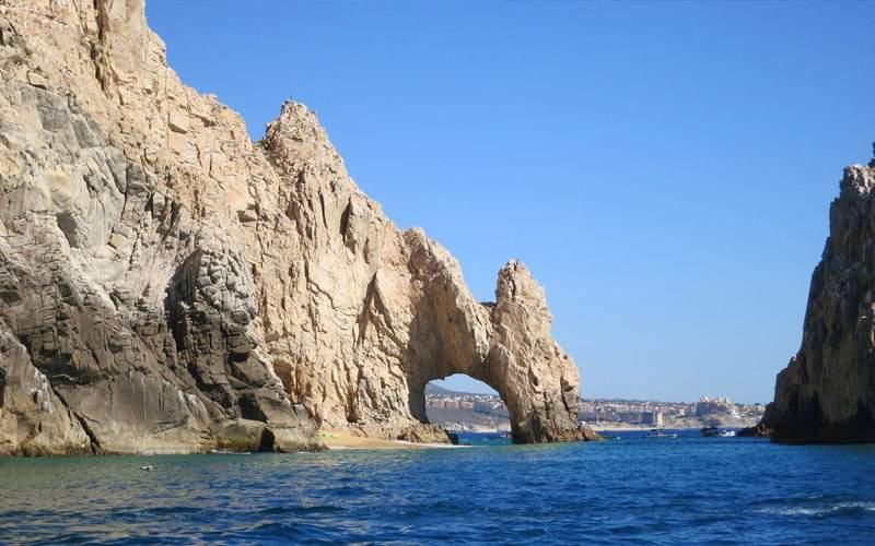 Cliffs of Cabo San Lucas, Mexico