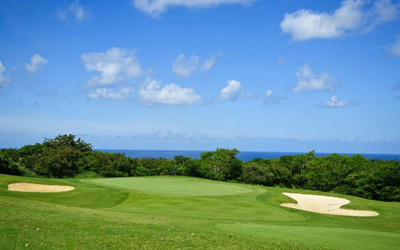 Windstar Transatlantic cruises Golf in Barbados
