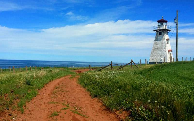 Lighthouse in Prince Edward Island, Canada