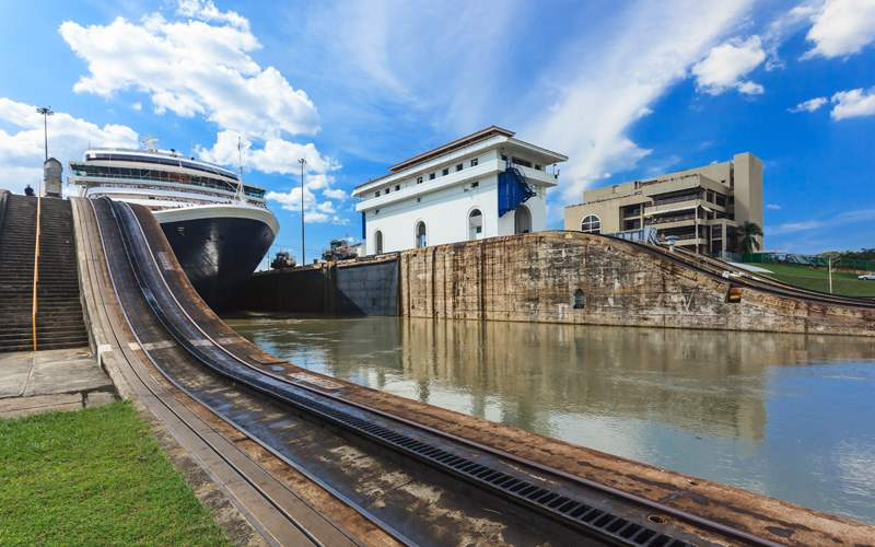 Windstar Panama Canal Cruises Locks Panama Canal