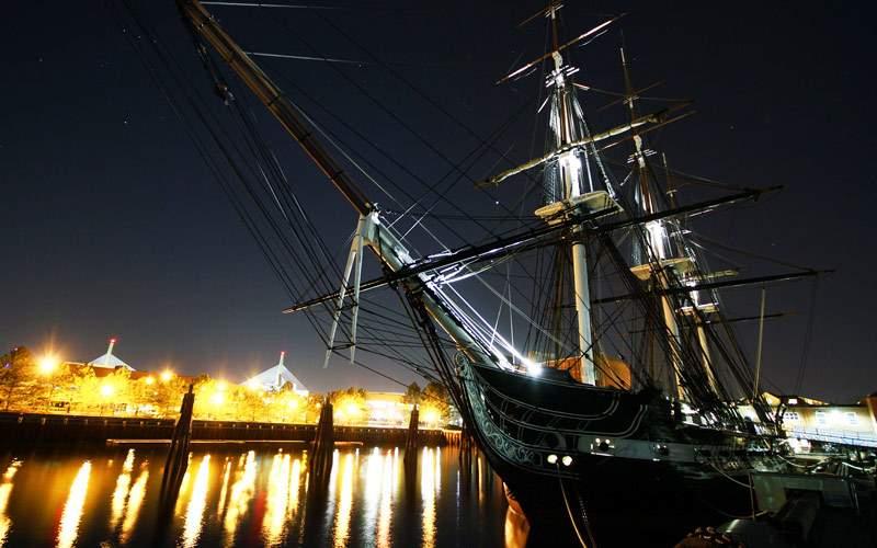 USS Constitution in Boston, MA