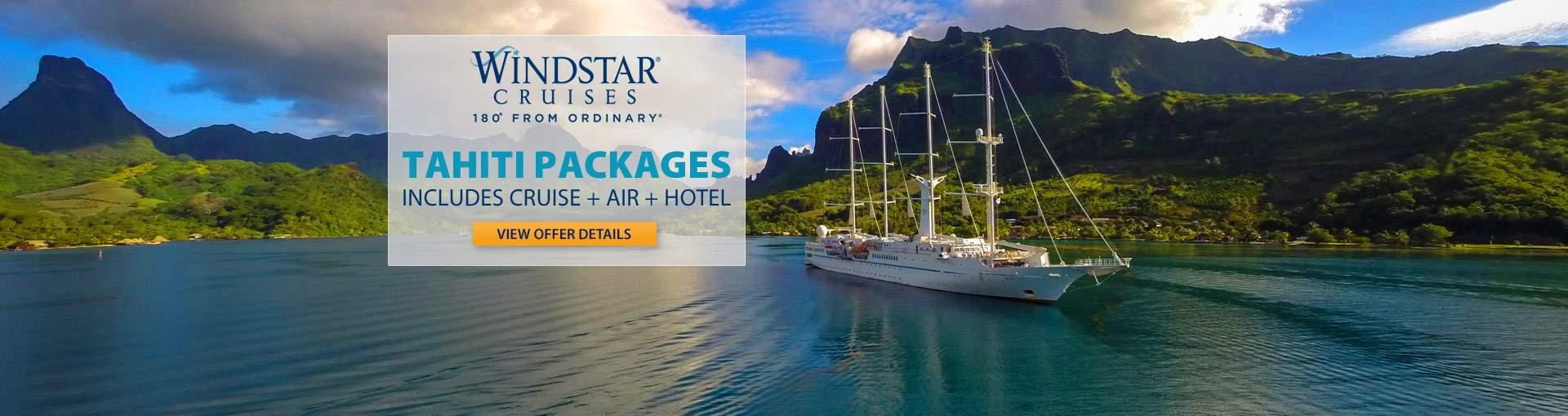 Windstar Cruises: Tahiti Packages