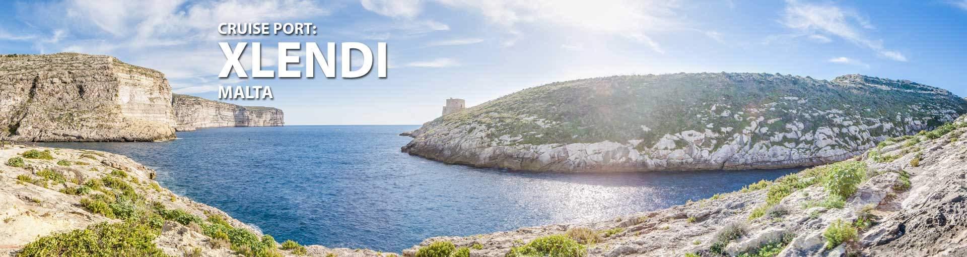 Cruises to Xlendi, Malta