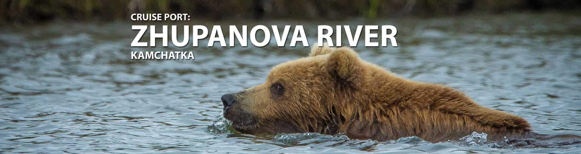 Cruises to Zhupanova River, Kamchatka
